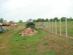 Betonkerítés építése